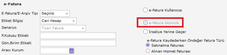ihracat işlemlerinde e-fatura uygulaması logo