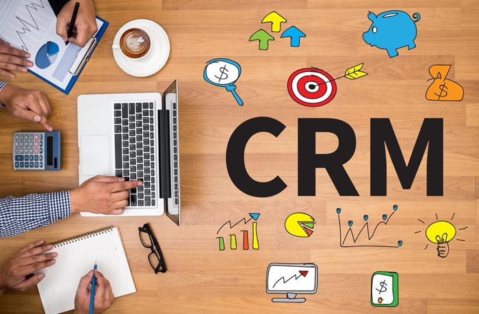 logo crm business