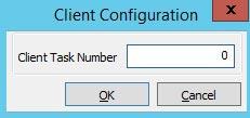 logo client task number