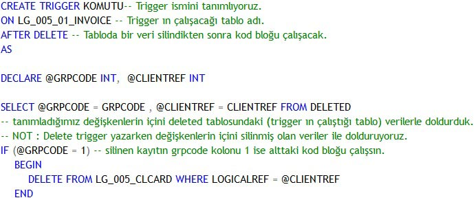 sql delete trigger