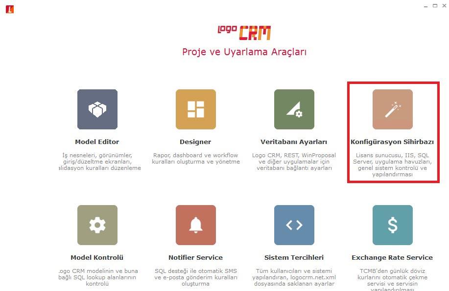 Logo Crm Proje ve Uyarlama Araçları