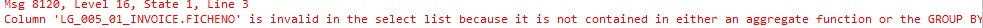 it is contained in either an aggregate function