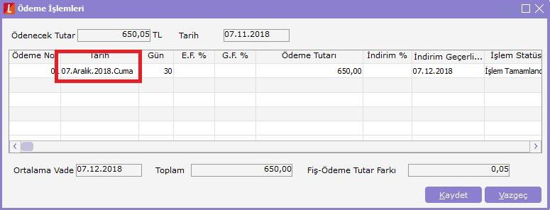 fatura ödeme işlemleri