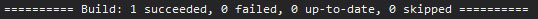 c# build output